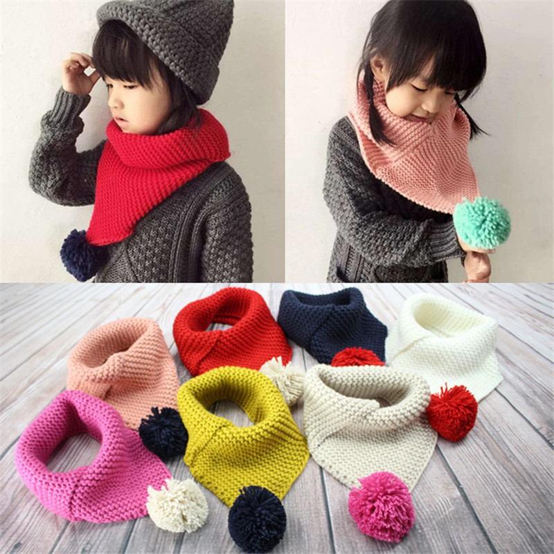 Вязать шарф для ребенка