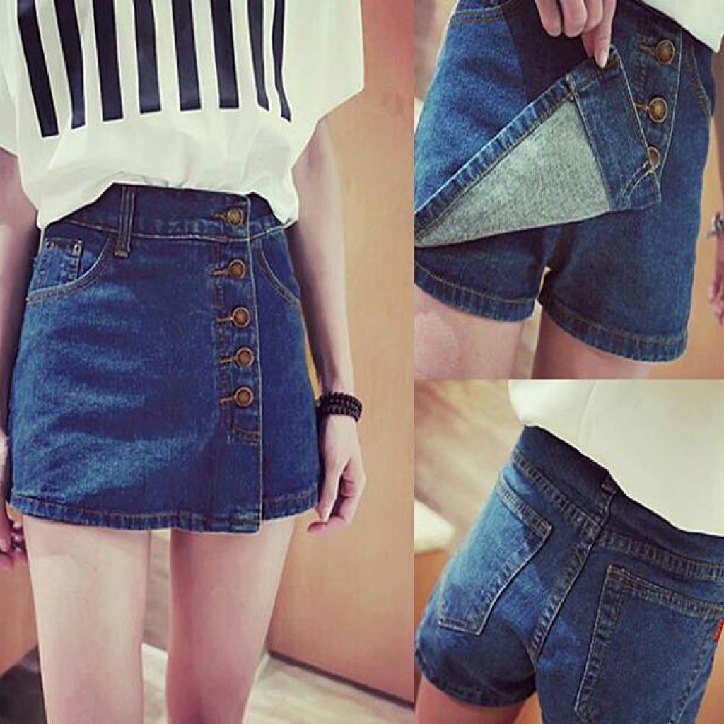 Как сделать из джинс юбку-шорты
