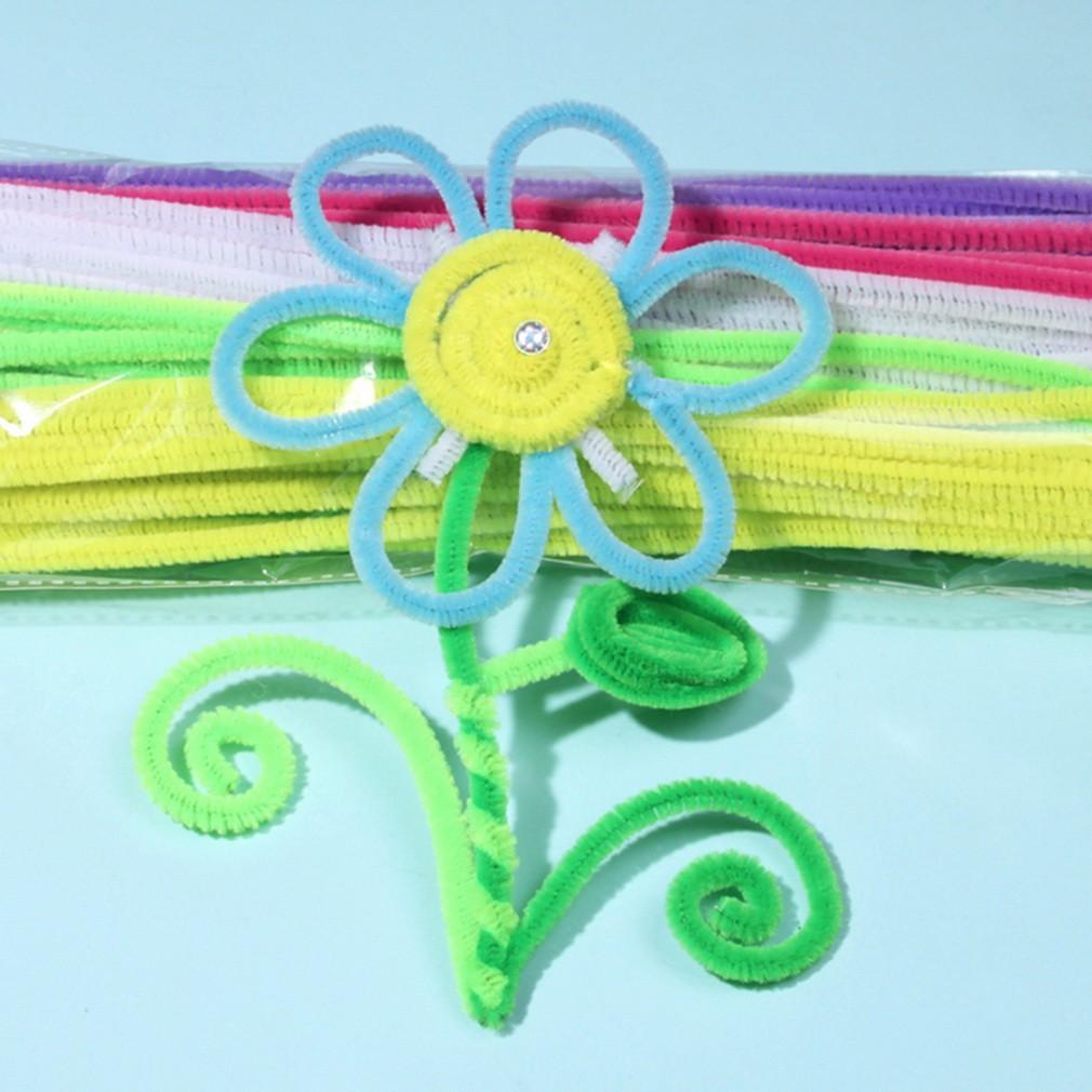 Поделки из цветной проволоки для детей - забавные 23