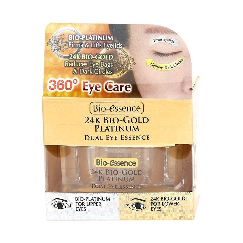 Bio-Essence 24K Bio-Gold Platinum Dual Eye Essence 18g   Shopee Singapore